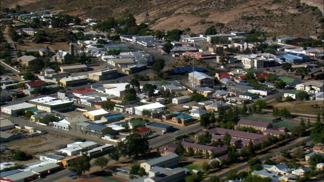 town - no springbok - Aerial View - Northern Cape,  Namakwa District Municipality,  Nama Khoi,  South Africa
