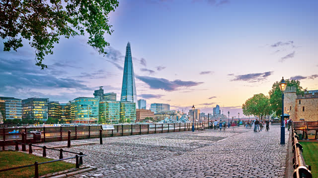 town of london. riverside. sunset. - town hall stock videos & royalty-free footage