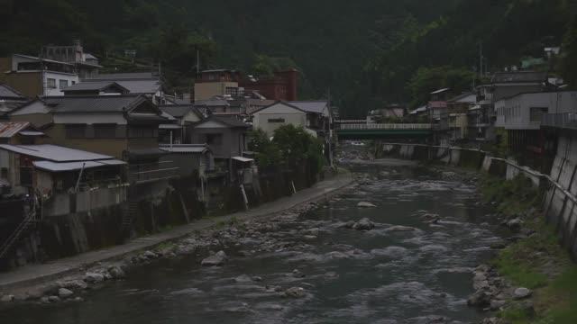 town of niyodogawa, kochi, japan - village stock videos & royalty-free footage