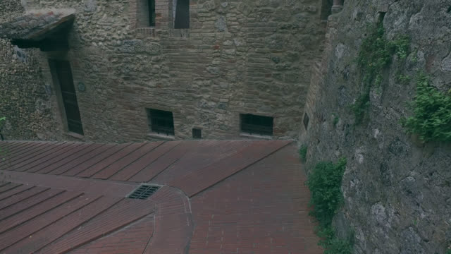 town of san gimignano, tuscany - one teenage boy only stock videos & royalty-free footage