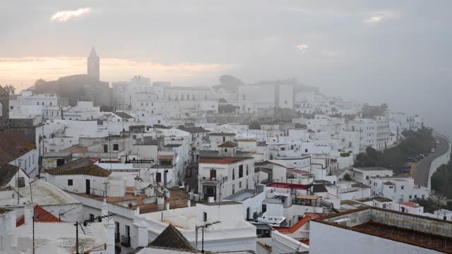 town of vejer de la fontera in spain - cádiz stock videos and b-roll footage