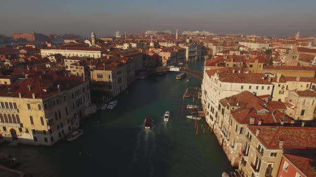town of venice in italy - grand canal venice stock videos & royalty-free footage