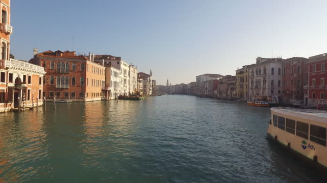 town of venice in italy - hovering stock videos and b-roll footage