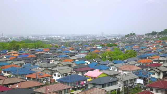 タウンの眺め屋根-4 K