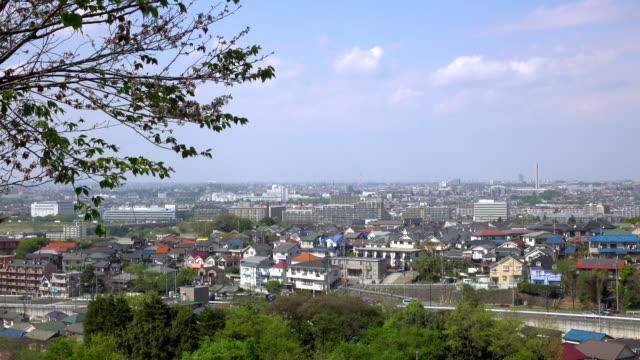 Città vista di tetti - 4 k