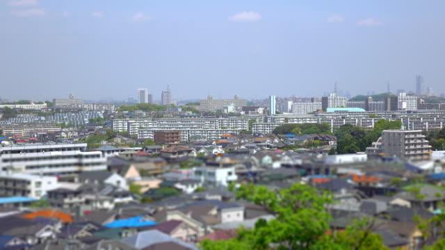 タウンの眺め屋根バルク 2 ~4 k - 住宅地点の映像素材/bロール