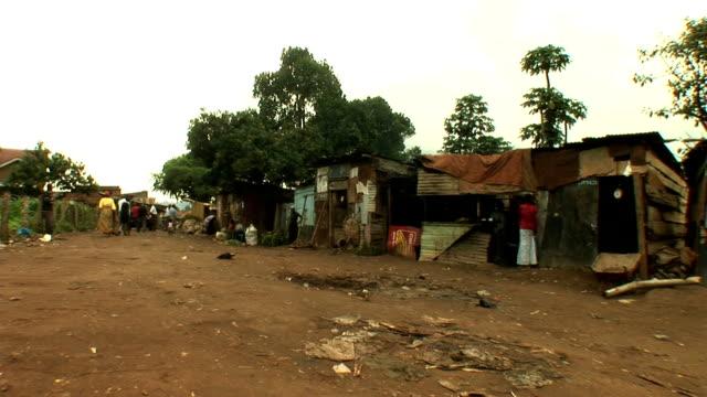 商業地域など - ウガンダ点の映像素材/bロール