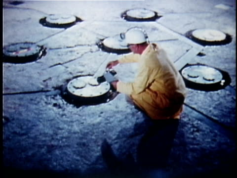 1973 montage toxic waste disposal, usa, audio - toxic waste stock videos & royalty-free footage