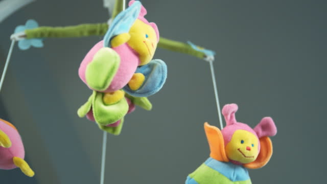 CU LA Toy mobile turning, hanging from ceiling, Brussels, Brabant, Belgium