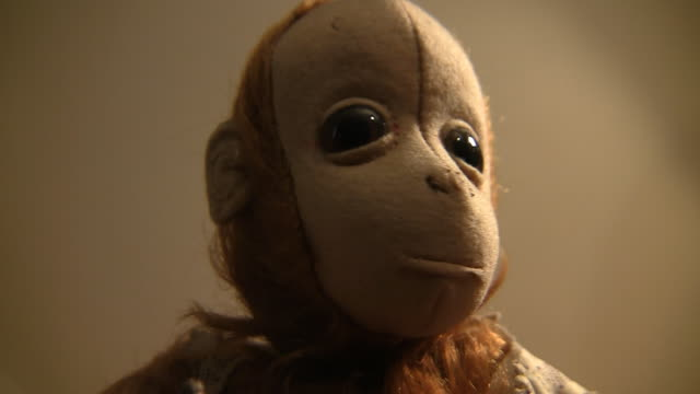 toy monkey - doll stock videos and b-roll footage