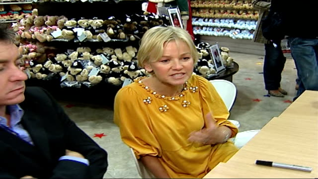 toy police bears launched at hamley's lisa maxwell interview sot sir ronnie flanagan interview sot - lisa maxwell stock videos and b-roll footage
