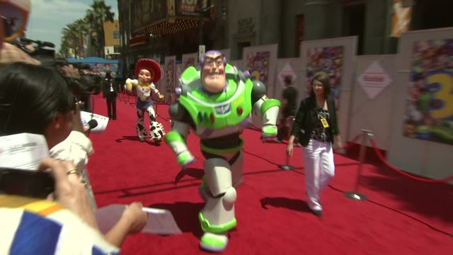 toy story 3 premiere hollywood ca united states 06/13/10 - tim allen stock videos and b-roll footage