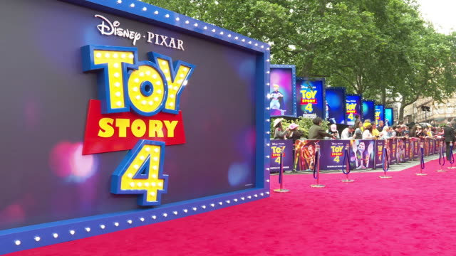 GBR: 'Toy Story 4' - European Premiere