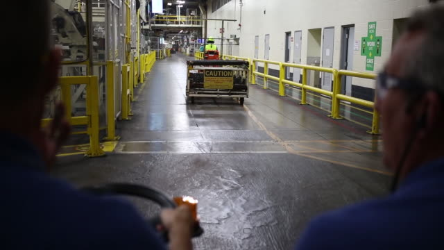 toyota camry sedans moving down assembly line at toyota motor manufacturing kentucky in georgetown kentucky us on thursday august 1 2019 - kentucky stock videos & royalty-free footage