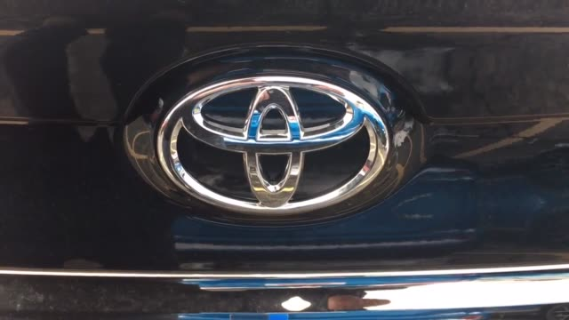 stockvideo's en b-roll-footage met toyota february us sales up 52% vs estimate of 6% increase exterior shots of toyota vehicles in a used lot additional shots of different toyota... - toyota motor