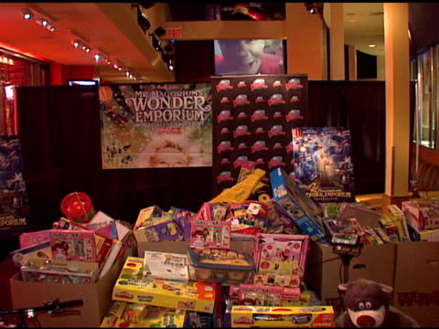 Toys For Tots at the 'Mr Magorium's Wonder Emporium' Toys for Tots Record Breaking WeighIn at Planet HollywoodTimes Square in New York New York on...
