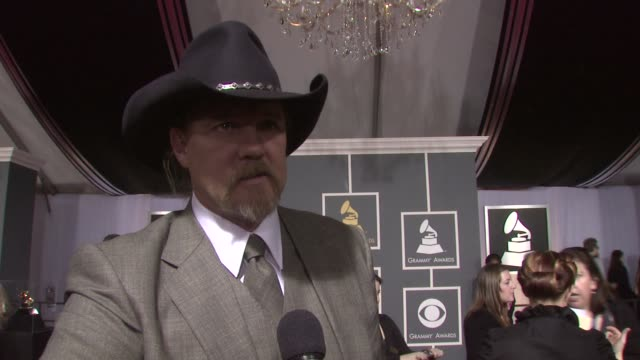 Trace Adkins on being nominated for a Grammy on where he was when he found out he was nominated on the music he grew up listening to and on who...