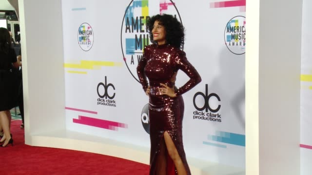 Tracee Ellis Ross at 2017 American Music Awards on November 19 2017 in Los Angeles California