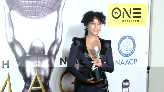 Tracee Ellis Ross at 47th NAACP Image Awards in Los Angeles CA