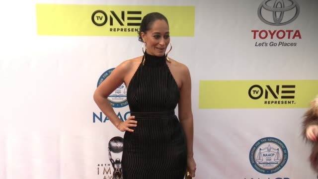 Tracee Ellis Ross at 48th NAACP Image Awards at Pasadena Civic Auditorium on February 11 2017 in Pasadena California
