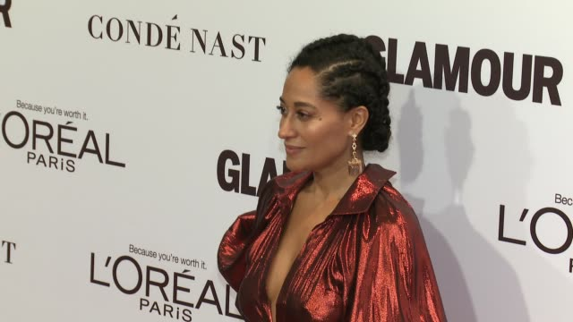 Tracee Ellis Ross at Glamour's 2016 Women of the Year at NeueHouse Hollywood on November 14 2016 in Los Angeles California