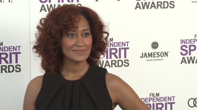 tracee ellis ross at the 2012 film independent spirit awards - arrivals on 2/25/12 in santa monica, ca, united states. - independent feature project stock videos & royalty-free footage