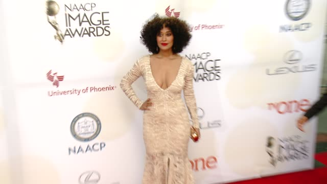 Tracee Ellis Ross at the 46th Annual NAACP Image Awards Arrivals at Pasadena Civic Auditorium on February 06 2015 in Pasadena California