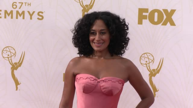 Tracee Ellis Ross at the 67th Annual Primetime Emmy Awards at Microsoft Theater on September 20 2015 in Los Angeles California