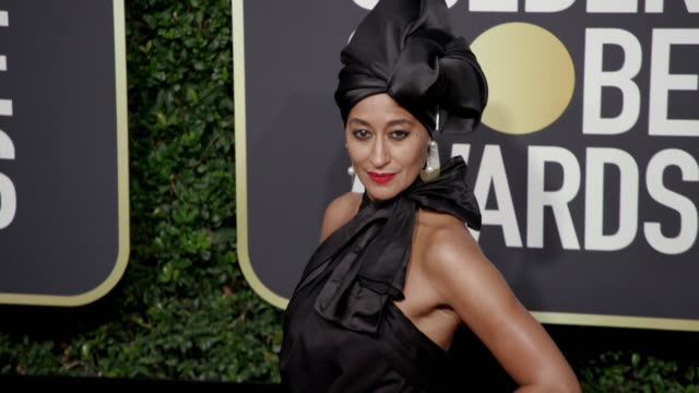 Tracee Ellis Ross at the 75th Annual Golden Globe Awards at The Beverly Hilton Hotel on January 07 2018 in Beverly Hills California