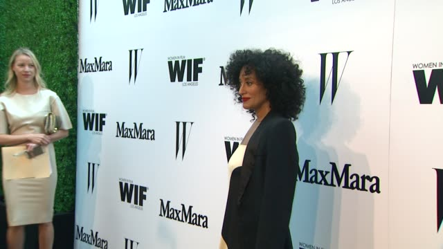 Tracee Ellis Ross at the Max Mara And W Magazine Cocktail Party To Honor The Women In Film Max Mara Face Of The Future Award Recipient Rose Byrne at...