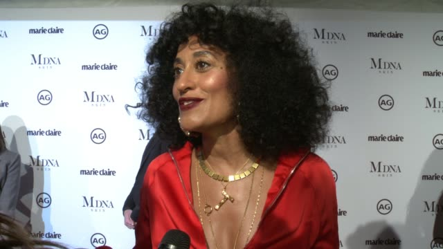 INTERVIEW Tracee Ellis Ross on presenting to Karla Welch why its important to support these creative artists who influences her fashion and her...