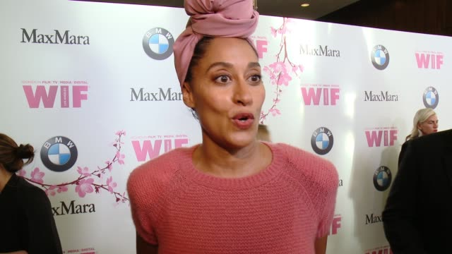 INTERVIEW Tracee Ellis Ross on what it means to be receiving the Lucy Award from WIF why it's important to have organizations like WIF in the...