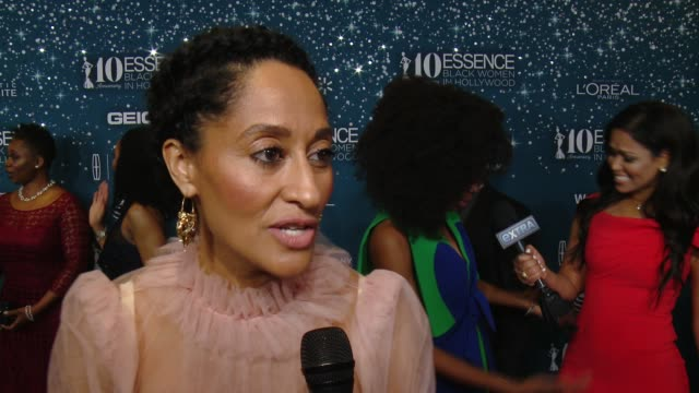 INTERVIEW Tracee Ellis Ross on what makes it the place to be each year at ESSENCE Presents 10th Anniversary Black Women in Hollywood Awards Gala in...