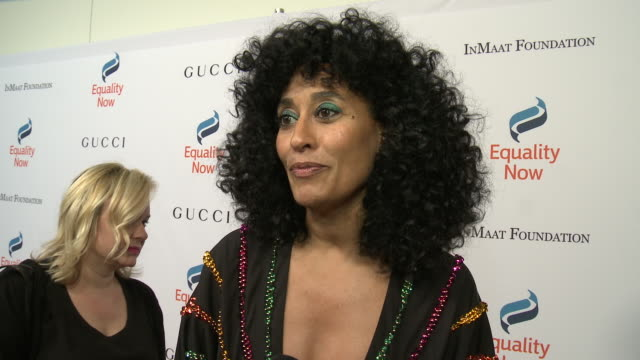 interview tracee ellis ross on why she wanted to support equality now why its important to support women girls rights her hopes for 2019 at equality... - equality now stock videos and b-roll footage