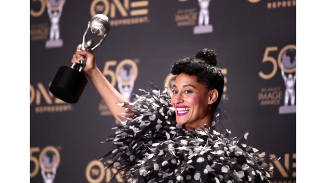 Tracee Ellis Ross winner of Outstanding Actress in a Comedy Series attends the 50th NAACP Image Awards at Dolby Theatre on March 30 2019 in Hollywood...
