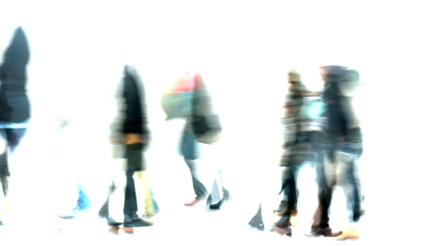 traces, marks, impressions, moments : LOOSE CROWD, bright - winter, london (LOOP)
