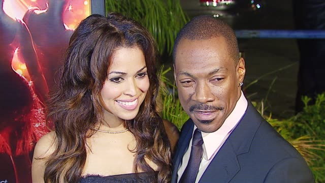 tracey edmonds and eddie murphy at the dreamworks pictures' and paramount pictures' 'dreamgirls' los angeles premiere at wilshire theatre in beverly... - eddie murphy stock videos & royalty-free footage