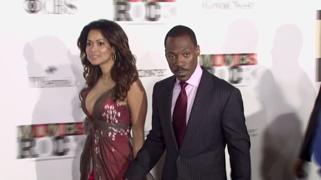 tracey edmonds and eddie murphy at the movies rock a celebration of music in film at the kodak theatre in hollywood california on december 2 2007 - eddie murphy stock videos & royalty-free footage