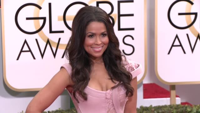 Tracey Edmonds at the 72nd Annual Golden Globe Awards Arrivals at The Beverly Hilton Hotel on January 11 2015 in Beverly Hills California