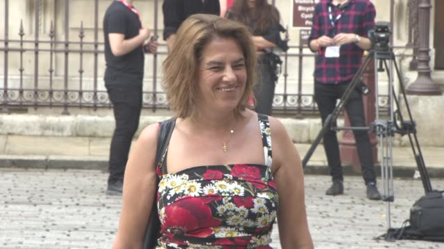 tracey emin at royal academy of arts summer exhibition preview party 2016 on june 7 2016 in london england - royal academy of arts stock videos & royalty-free footage