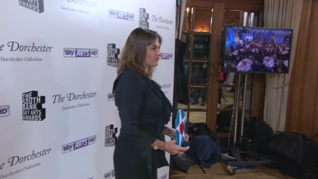 Tracey Emin at South Bank Sky Arts Award at Dorchester Hotel on January 27 2014 in London England