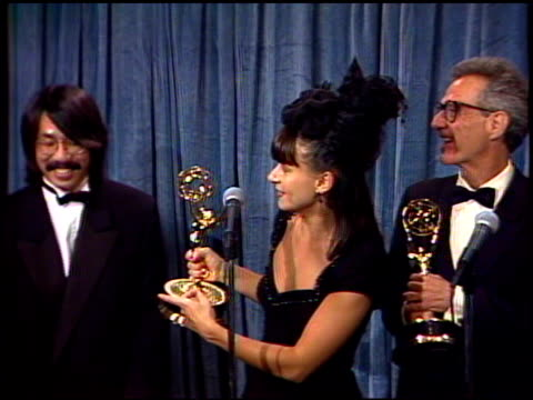 Tracey Ullman at the 1989 Emmy Awards Backstage at the Pasadena Civic Auditorium in Pasadena California on September 17 1989