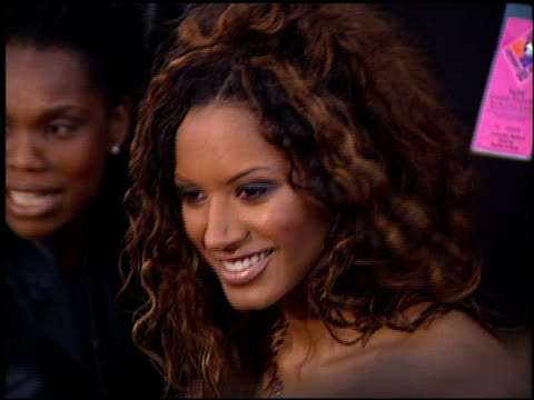 traci bingham at the 2001 grammy awards at staples in los angeles, california on february 21, 2001. - traci bingham stock videos & royalty-free footage