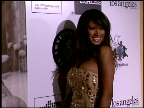 traci bingham at the 2002 academy awards 'ago' party at the kodak theatre in hollywood, california on march 24, 2002. - traci bingham stock videos & royalty-free footage
