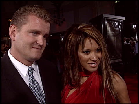 traci bingham at the 'excorcist: the beginning' premiere at grauman's chinese theatre in hollywood, california on august 18, 2004. - traci bingham stock videos & royalty-free footage
