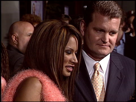 traci bingham at the 'mean girls' premiere at the cinerama dome at arclight cinemas in hollywood, california on april 19, 2004. - traci bingham stock videos & royalty-free footage