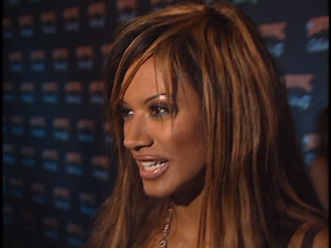 traci bingham at the n sync celebrity album party at moomba, west hollywood in west hollywood, ca. - traci bingham stock videos & royalty-free footage