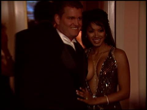 traci bingham at the night of 100 stars oscar gala at the beverly hilton in beverly hills, california on february 29, 2004. - traci bingham stock videos & royalty-free footage