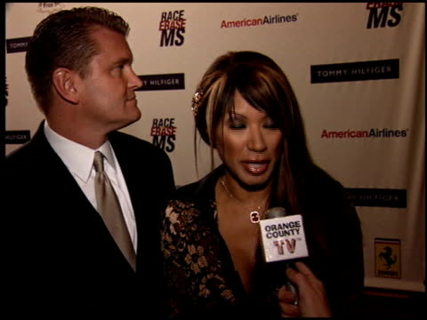 traci bingham at the race to erase at the westin century plaza hotel in century city, california on april 22, 2005. - race to erase ms stock videos & royalty-free footage
