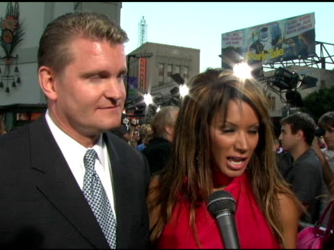 traci bingham at the 'the exorcist: the beginning' world premiere red carpet at grauman's chinese theatre in hollywood, california on august 18, 2004. - traci bingham stock videos & royalty-free footage